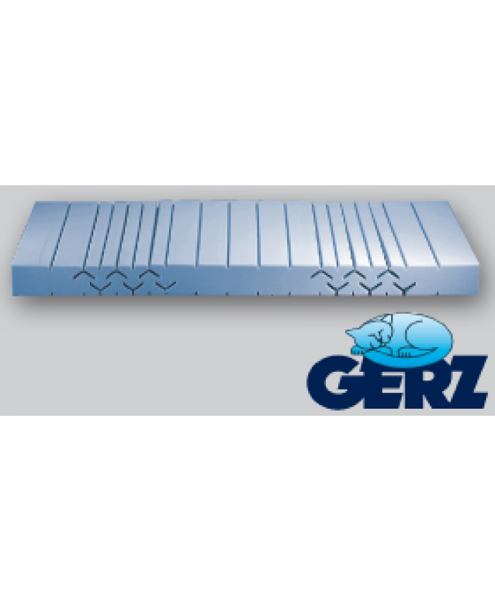 Gerz 7-Zonen-Kaltschaum-Matratze Activa Härte II