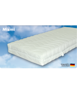 Gerz Taschenfederkern-Matratze Miami Härte II